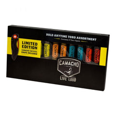 Camacho SAMPLER Bold Anytime TORO 6 X 50 Pack of 8 with tactical knife