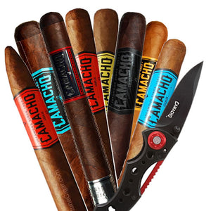CAMACHO Sampler 8 Different cigars