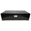 Desk/Counter Top Adjustable Dividers Black Humidor for up to 250 Cigars
