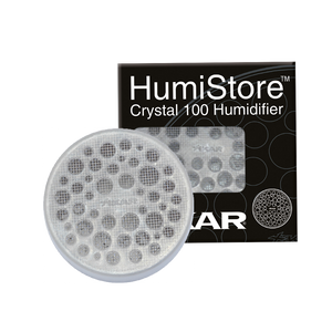 Xikar CRYSTAL Humidifier for 50 Cigar Count plus HUMSOL and Humidifier