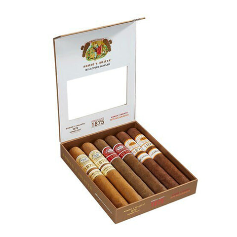 Image of Romeo y Julieta 1875 LOVERS SAMPLER Box of 6