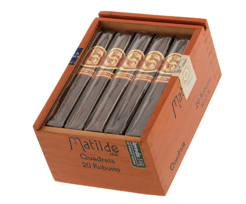 Matilde Quadrata (Box, Pack and Single Cigars)