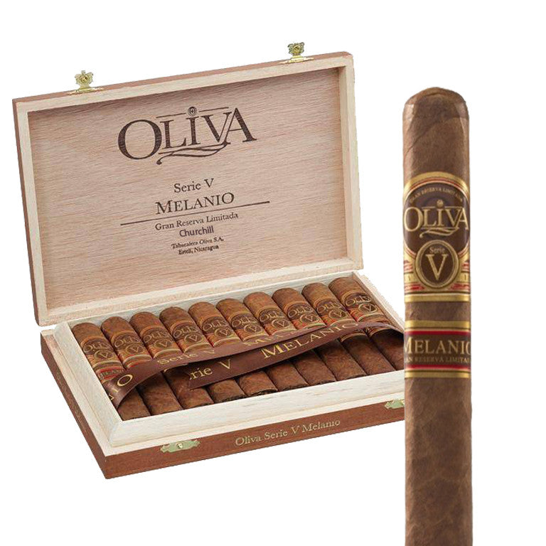 Oliva Serie V Melanio Cigars Box of 10 - Cigar boulevard