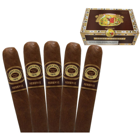 Image of ROMEO Y JULIETA HABANA RESERVE Packs and Boxes Cigars - Cigar boulevard