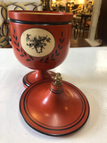 1960's - 70's Italian Tolewear Ice Bucket With Liner