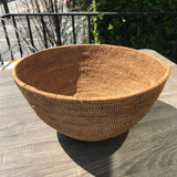 African Woven Tribal Basket