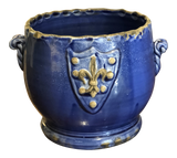 Blue Vietri Planter & Shield