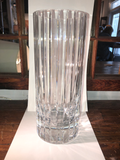 Out of Production Baccarat Cut Crystal Vase in the Harmonie Pattern