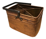 Patinated Copper Caddy