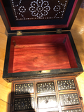Porcupine Quill Work Box/Spice Box