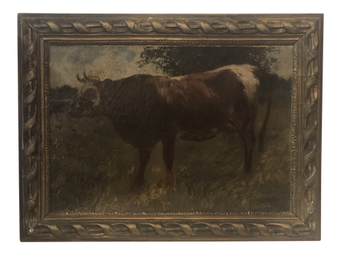 Signed Oil Painting by French Artist, Félix Dominique De Vuillefroy