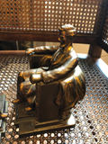 Vintage Lincoln Memorial Bookends, a Pair