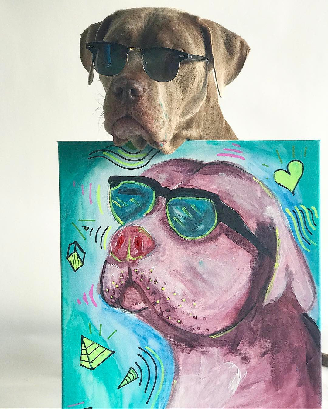 JAMESWILDEXO CUSTOM PUPPY PORTRAIT - Shop Wilde Unicorn