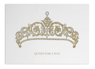 Queen's Tiara card