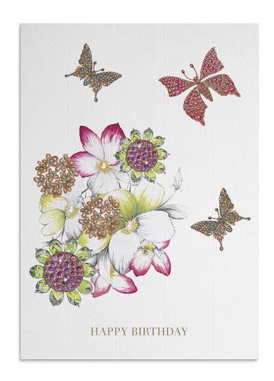 Hibiscus Flowers card