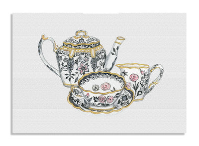 Monochrome Tea card NEW