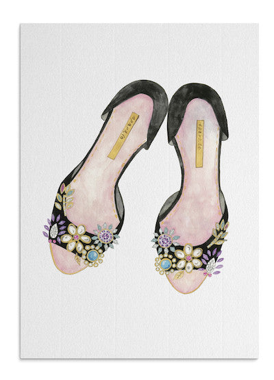 Jewel Shoes card