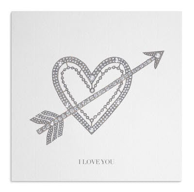 Cupid's Bow card