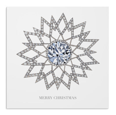 Christmas Diamond Star card