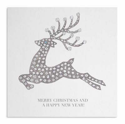 Christmas Diamonds are Forever Reindeer card