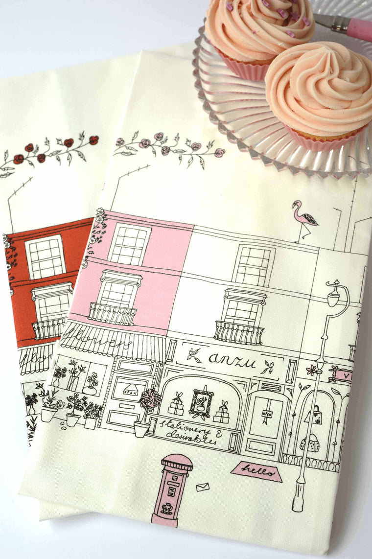 Notting Hill Tea Towel