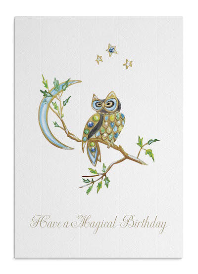 Magical Owl card