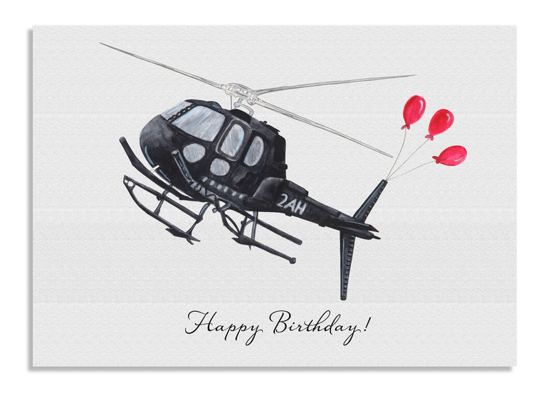 Anzu Helicopter Balloons cards