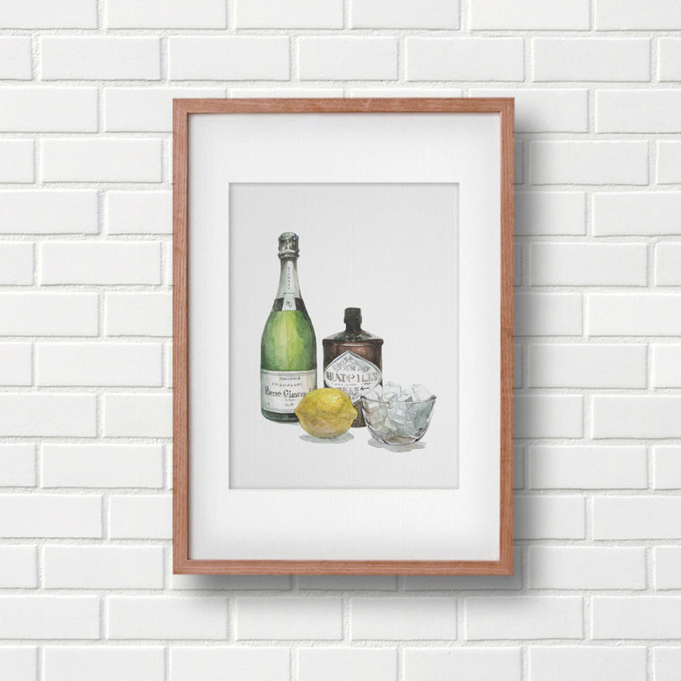 French 75 Art print