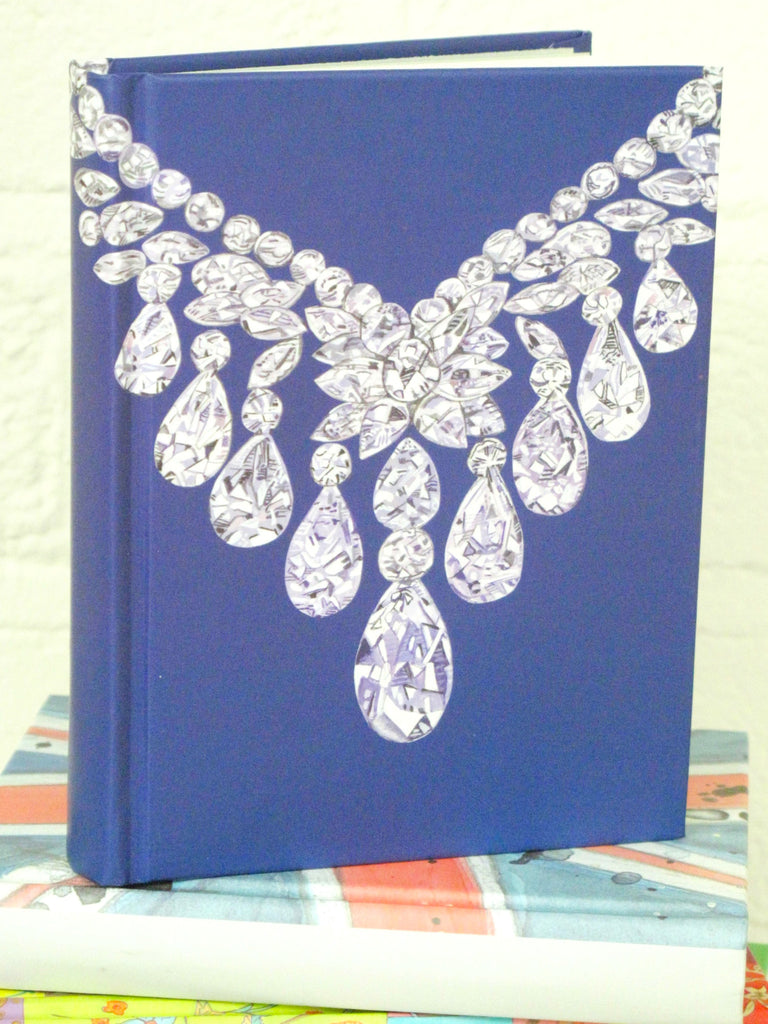 Diamond Necklace Notebook
