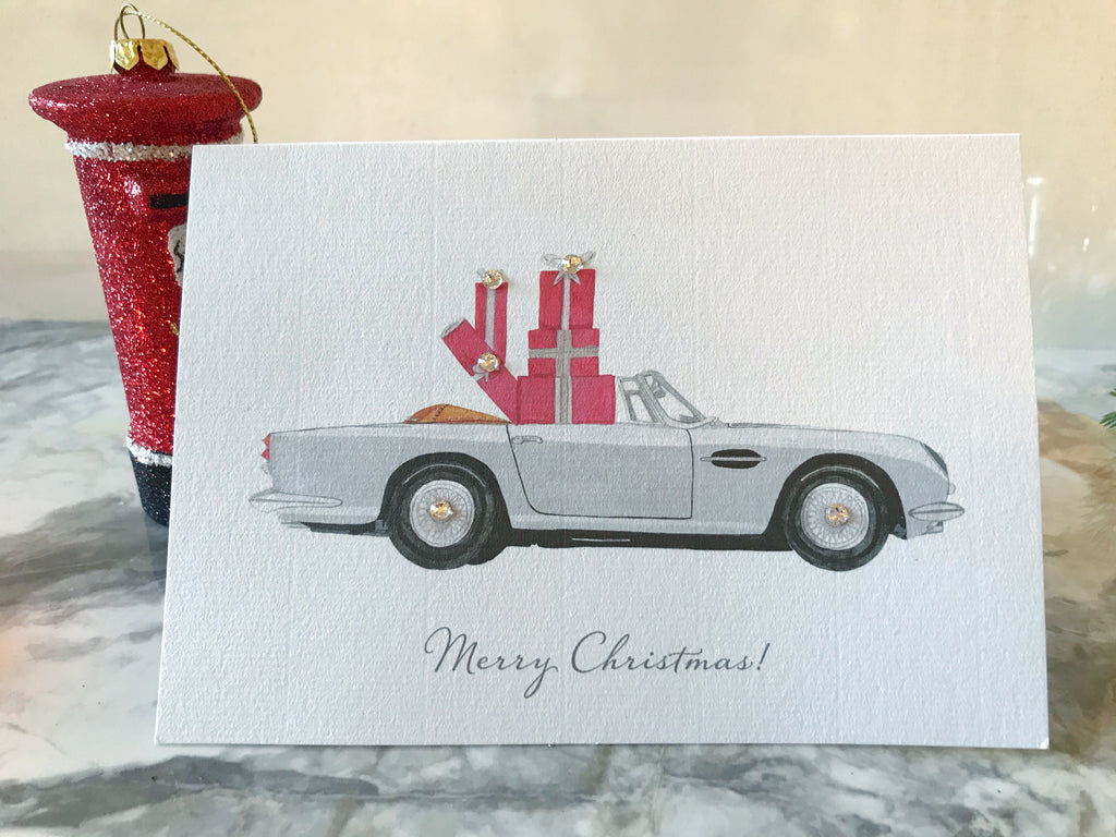 Christmas Convertible card