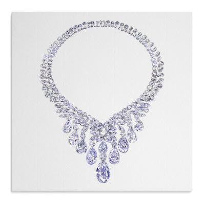 Diamond Necklace card