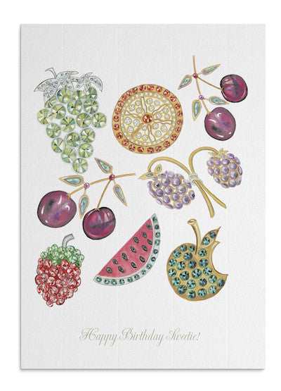 Jewel Fruits card