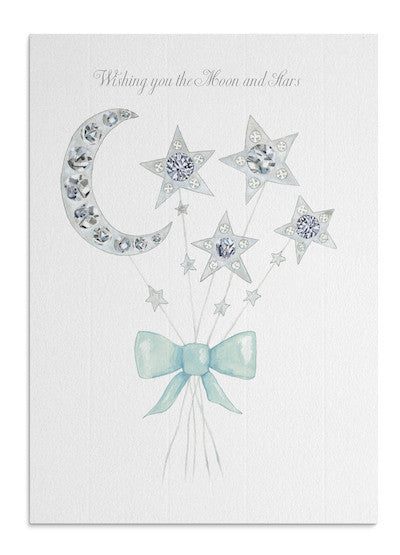 Moon Bouquet card