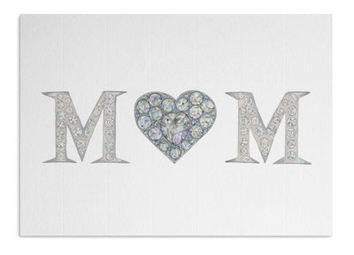 Crystal Mum card