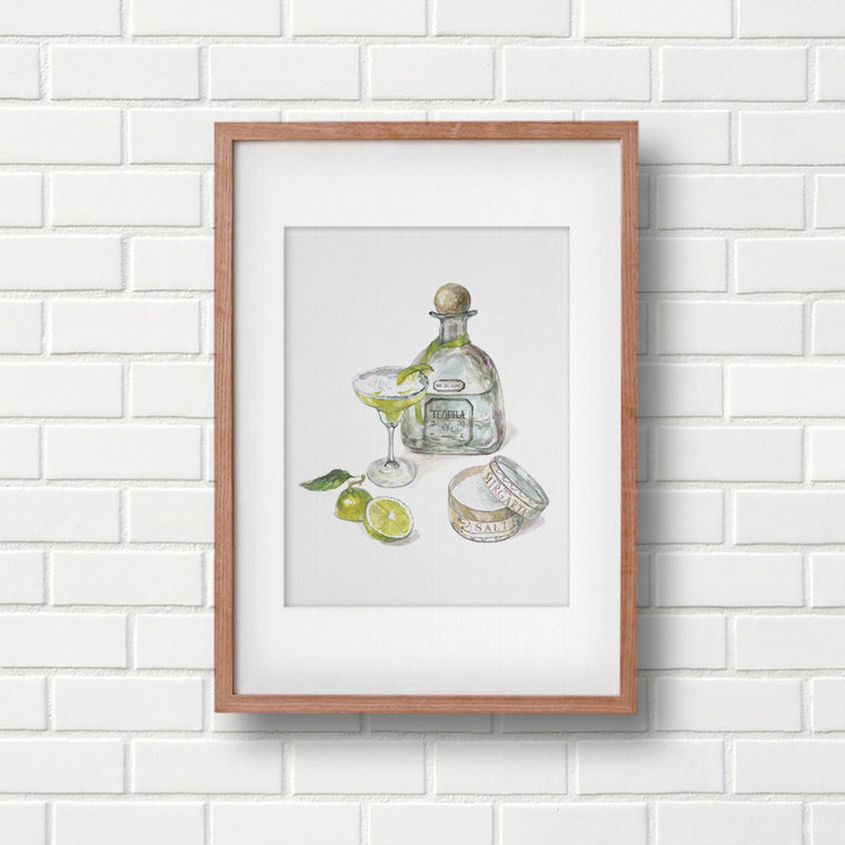 Margarita Limited Art print