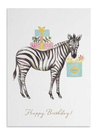 Zebra Gifts card