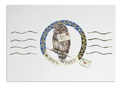 Owl Post card