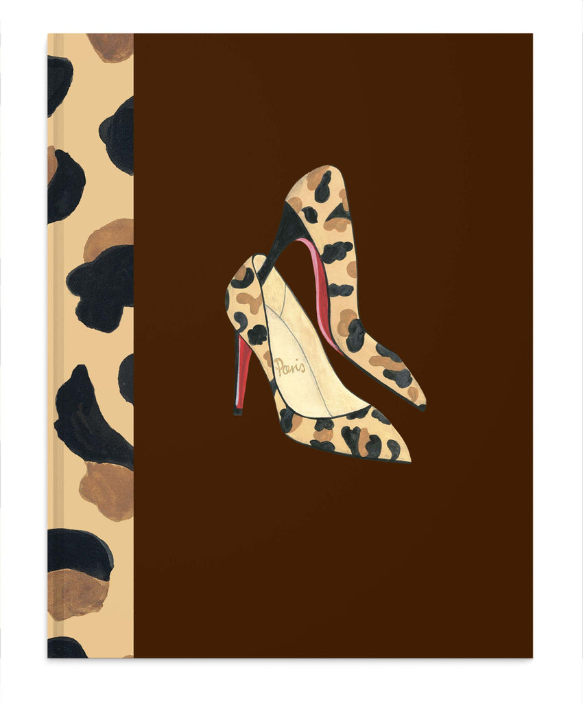 Leopard Shoes notebook