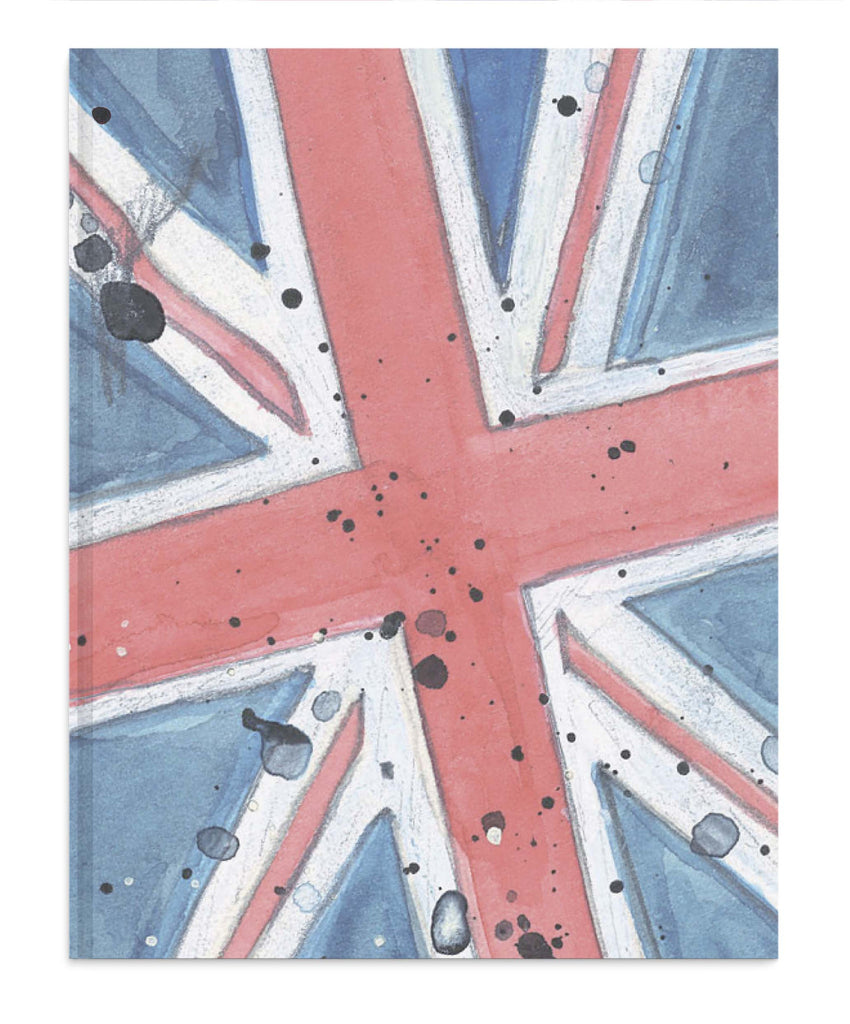 Union Jack notebook