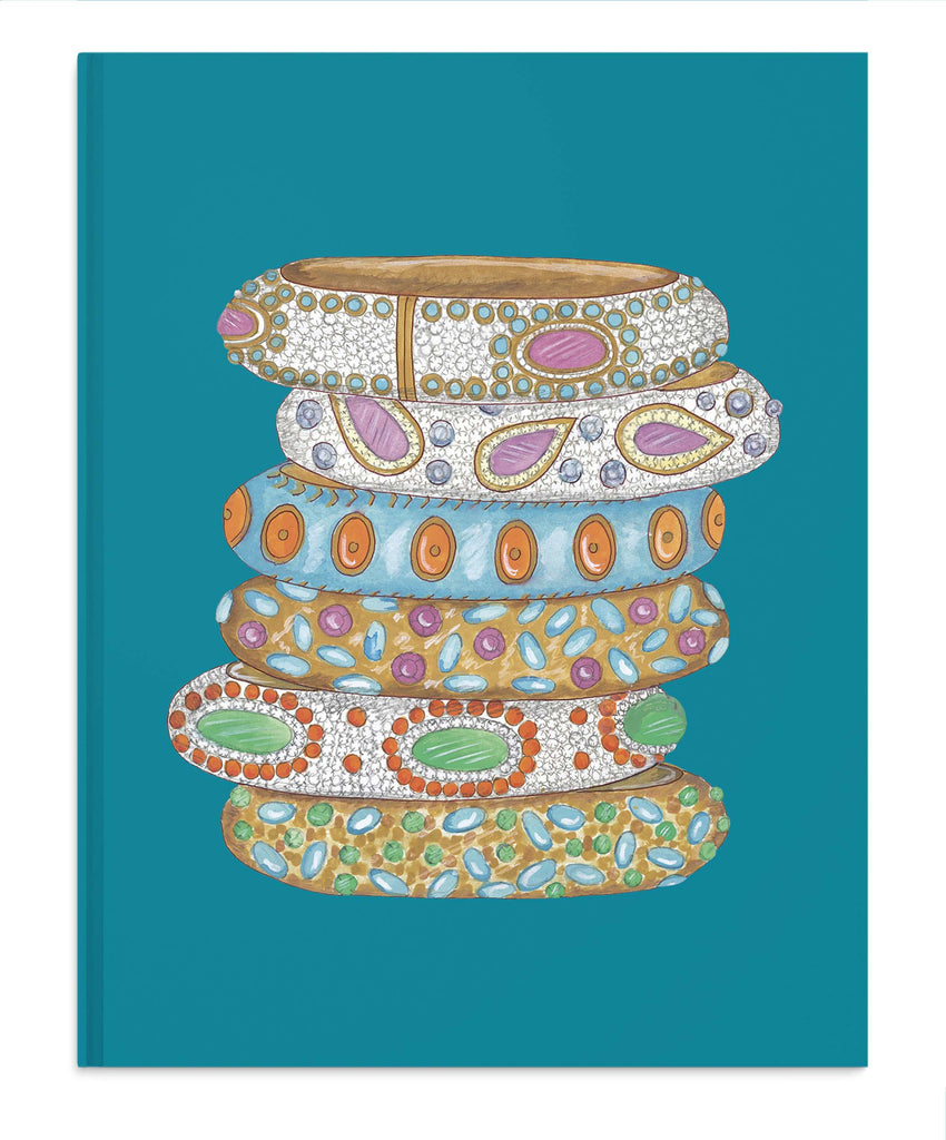 Jewelled Bangles Notebook