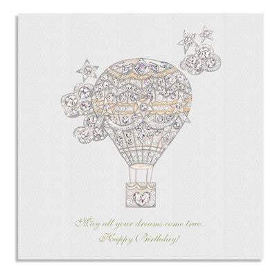 Crystal Balloon card