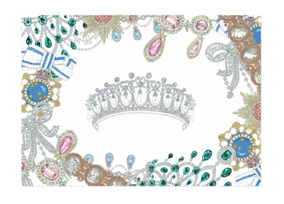 Queen's Jewels print