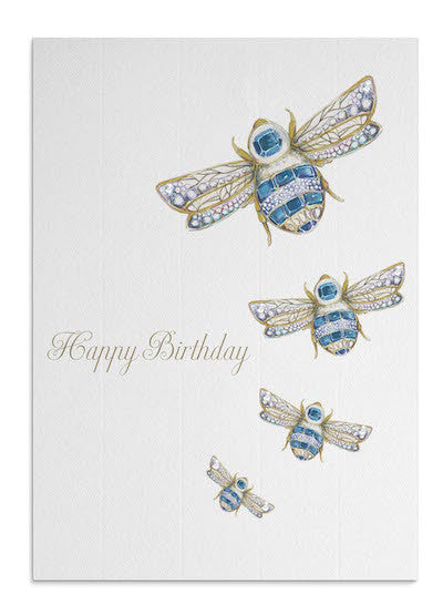 Sapphire Bees card
