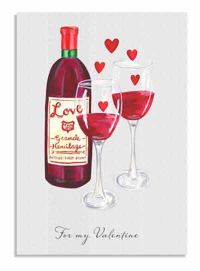 Love Wine card