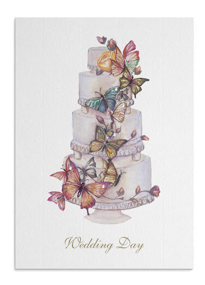 Butterfly Cake card