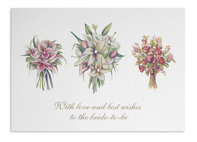 Wedding Bouquets card