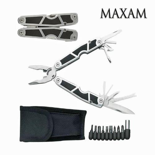 Stainless Steel Multi-Tool and 9 Bits