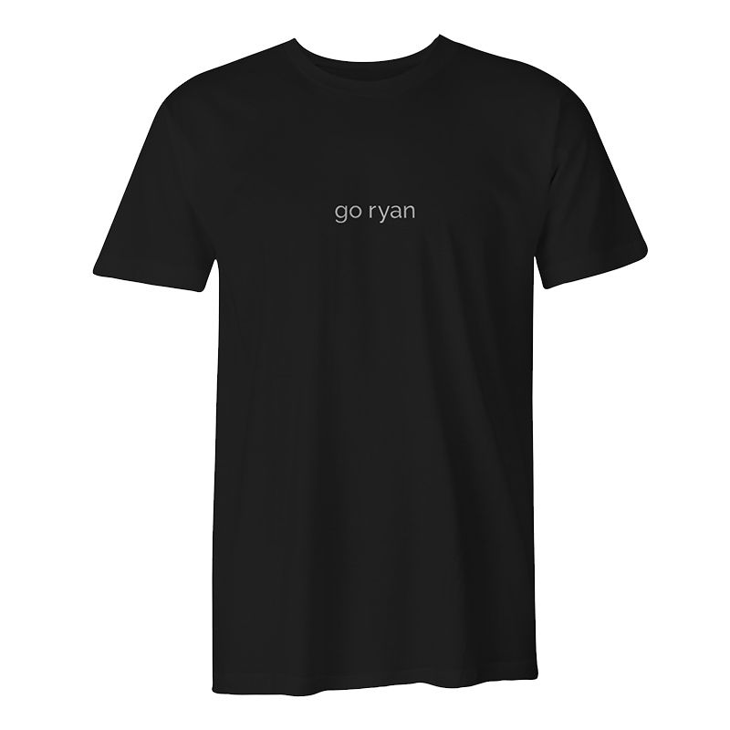 Go Ryan Embroidered Tee