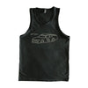 Go Ryan Tank Top - Charcoal