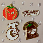 Pin Metálico Tom 4 Pack
